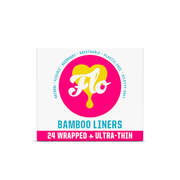 Flo | Bamboo Daily Liners Wrapped x 24 | A Little Find