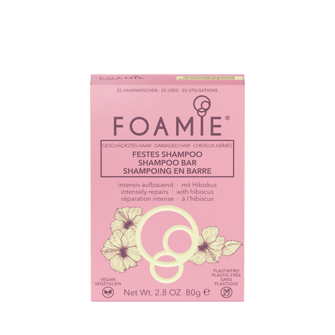 Foamie | Hibiscus Shampoo Bar - Damaged Hair - 80g | A Little Find