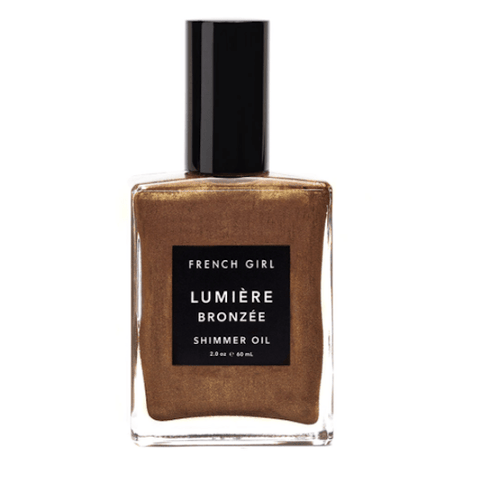 French Girl | Lumière Bronzée Shimmer Oil - 60ml | A Little Find