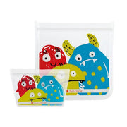 Full Circle | Reusable Lunch Bag Set - Monster Print | A Little Find