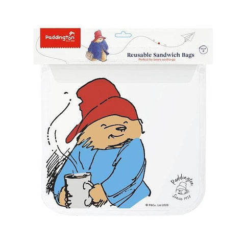 Full Circle | Reusable Sandwich Bags - Paddington | A Little Find