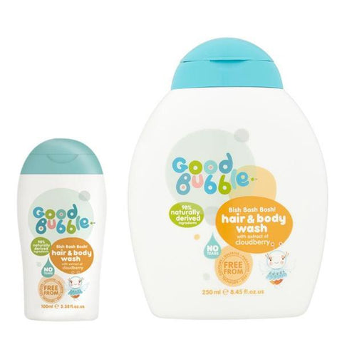 Good Bubble | Cloudberry Extract Hair & Body Wash Duo | A Little Find