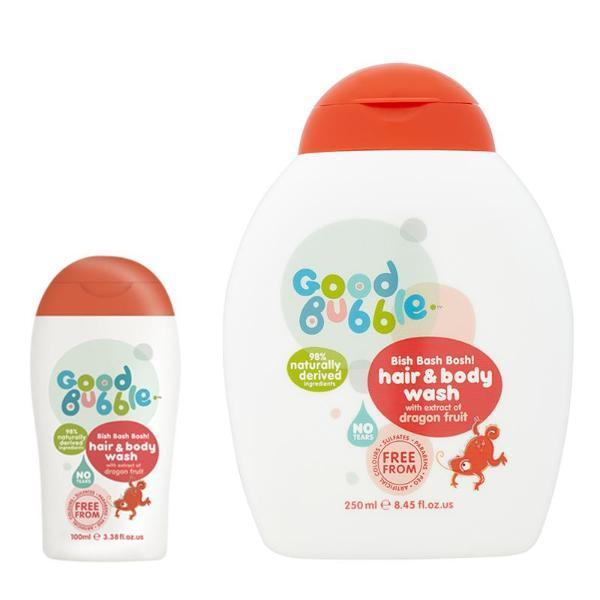 Good Bubble | Dragon Fruit Extract Hair & Body Wash Duo | A Little Find