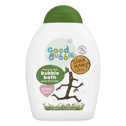 Good Bubble | Stick Man Sweet Fig & Elder Bubble Bath | A Little Find