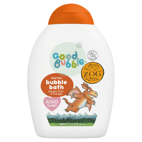 Good Bubble | Zog - Dragon Fruit & Orange Bubble Bath | A Little Find