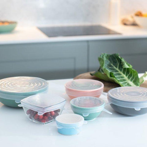 Green Island | Silicone Stretch Lids - Set of 6 | A Little Find