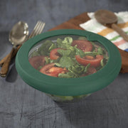 Food Huggers | Large Food Huggers Lid - Gradual Green | A Little Find