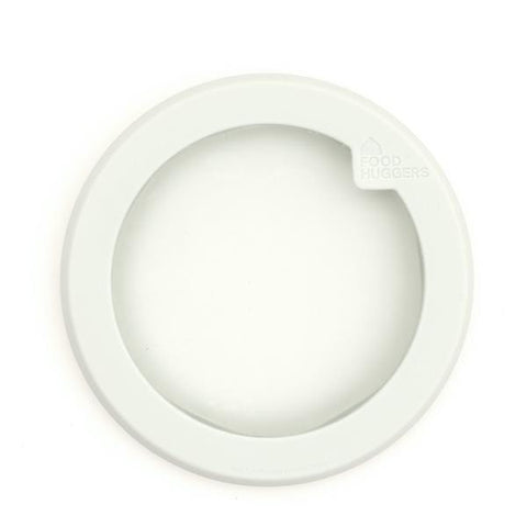 Food Huggers | Small Food Huggers Lid - White | A Little Find