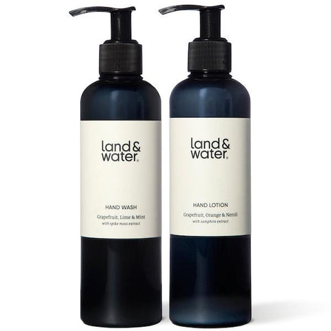Land & Water | Hand Duo - Citrus, Mint & Neroli - 2 x 250ml | A Little Find