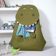 Stackers | T-rex Laundry Storage Basket | A Little Find
