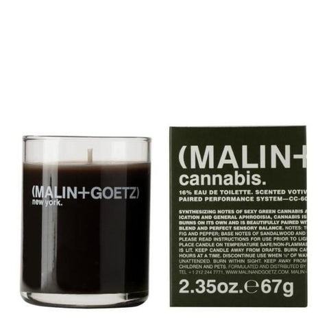 Malin+Goetz | Cannabis Votive Candle - 67g | A Little Find