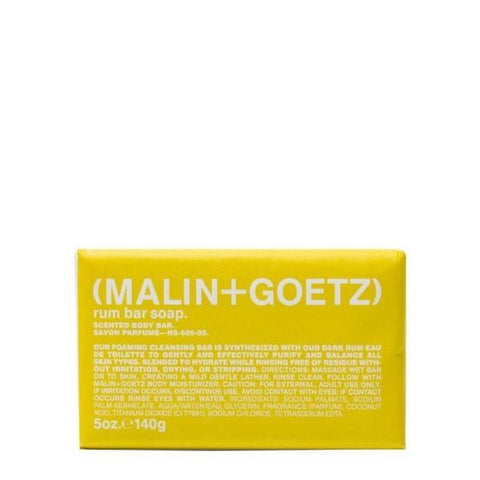 Malin+Goetz | Rum Bar Soap - 140g | A Little Find