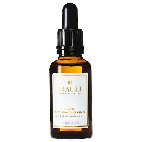 Mauli | Nourish Post Shave & Beard Oil - 30ml | A Little Find