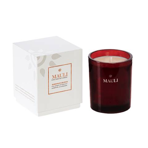 Mauli | Sundaram & Silence Essential Oil Candle | A Little Find