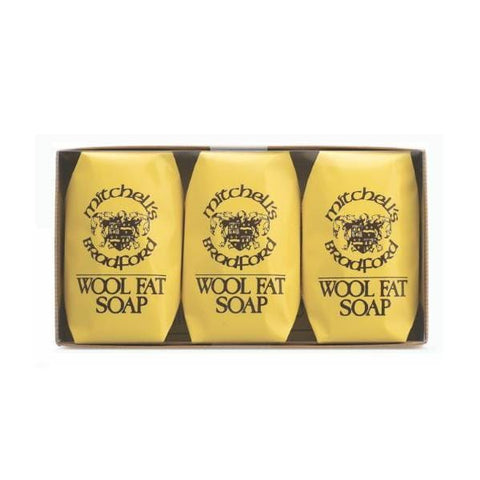 Mitchell's Wool Fat Soap | Bath Soap - Set of 3 | A Little Find