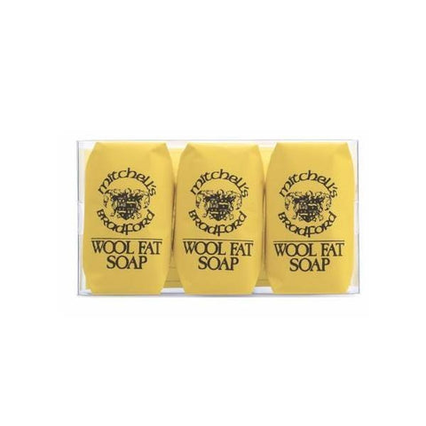 Mitchell's Wool Fat Soap | Hand Soap - Set of 3 | A Little Find