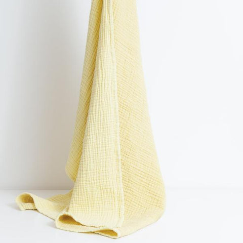 Mori | Cuddle Blanket - Yellow | A Little Find