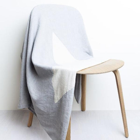 Mori | North Star Throw - Grey | A Little Find