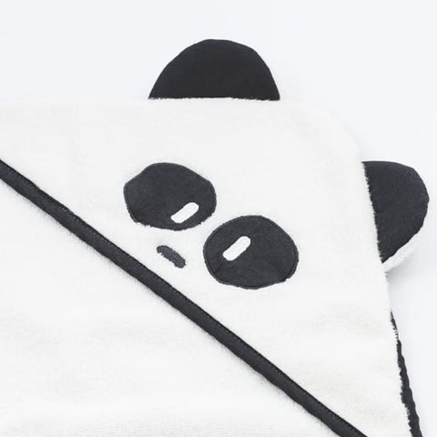 Mori | Panda Hooded Towel - Toddler | A Little Find