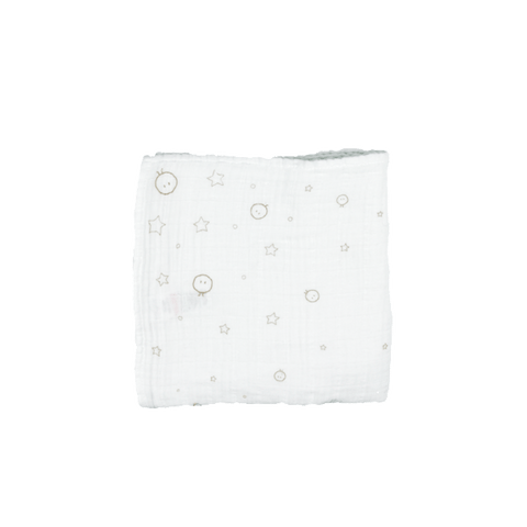Mori | Muslin Swaddle - White - Large | A Little Find