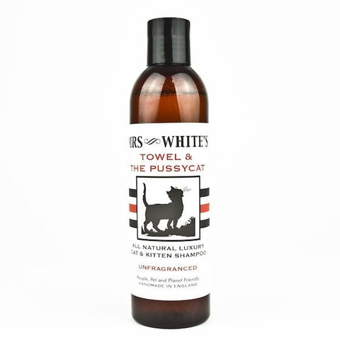 Mrs White's | Towel & The Pussycat Natural Cat Shampoo | A Little Find