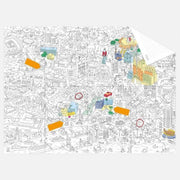 OMY | Colouring Pocket Map - My Barcelona | A Little Find