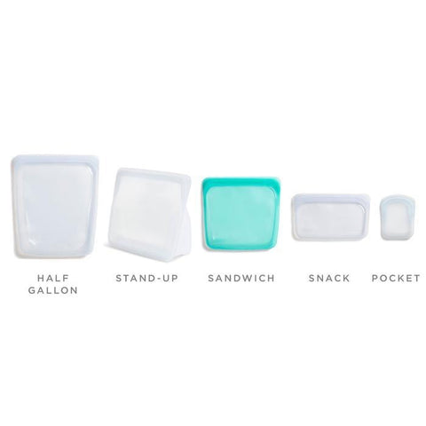 Reusable Silicone Snack Bag - Rose