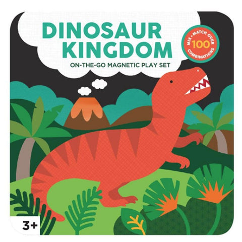 Petit Collage | Dinosaur Kingdom Play Set | A Little Find