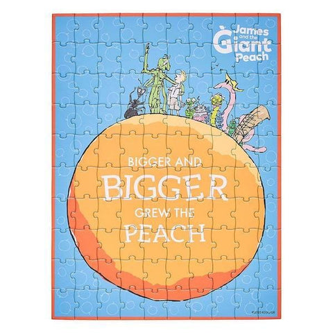 Roald Dahl James & The Giant Peach 100-Piece Book Puzzle