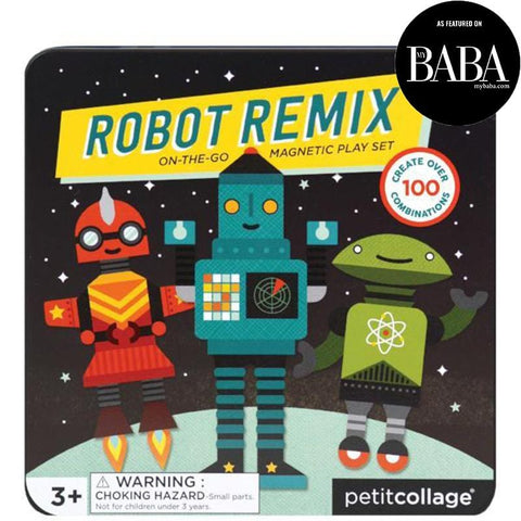 Robot Magnetic Play Set