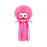 Bath Toy - Octopus Neon Pink