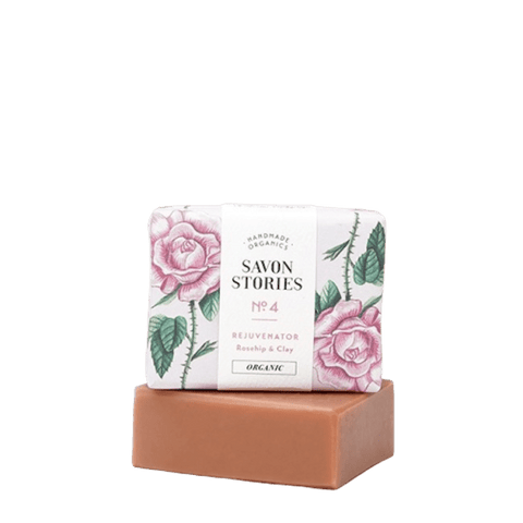 Savon Stories | Pink Clay Rejuvenator Soap Bar | A Little Find