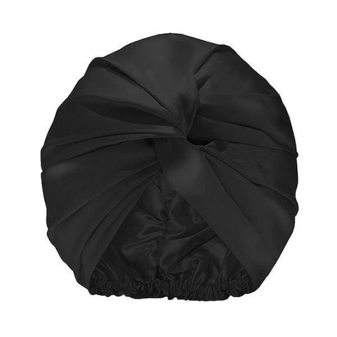 Slip | Silk Turban - Black | A Little Find