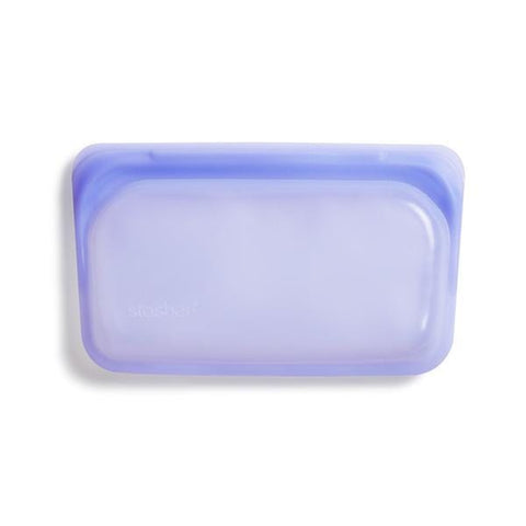 Reusable Silicone Snack Bag - Amethyst