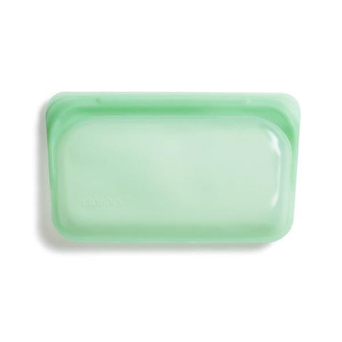 Reusable Silicone Snack Bag - Mint