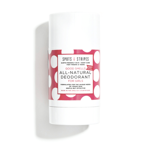 Spots & Stripes | All Natural Deodorant For Girls | A Little Find