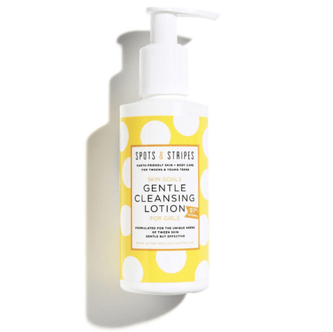 Spots & Stripes | Gentle Cleansing Lotion For Girls | A Little Find