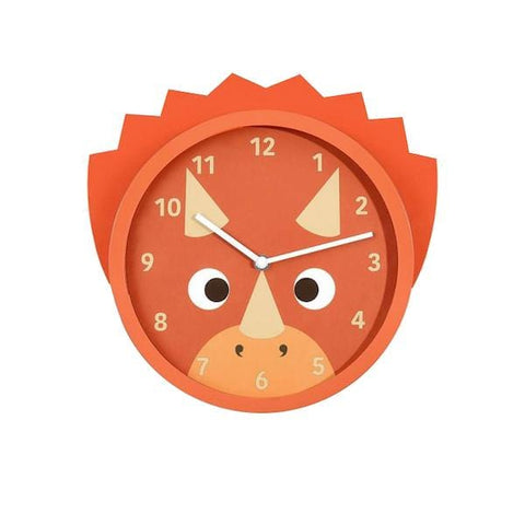 Stackers | Triceratops Wall Clock | A Little Find