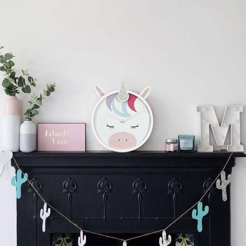 Stackers | Unicorn Wall Clock | A Little Find