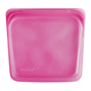 Stasher | Reusable Silicone Sandwich Bag - Raspberry | A LITTLE FIND