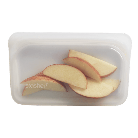 Stasher | Reusable Silicone Snack Bag - Clear | A LITTLE FIND