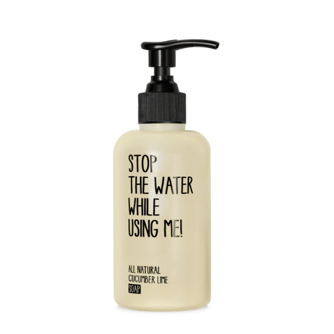 Stop The Water | Cucumber & Lime Hand Soap | A Little Find