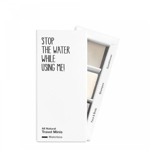 Stop The Water | All Natural Waterless Travel Set | A Little Find