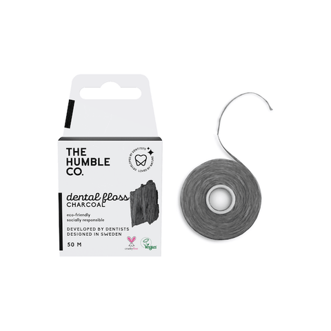 The Humble Co. | Charcoal Dental Floss - 50m | A Little Find