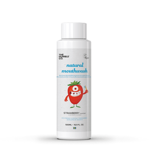 The Humble Co. | Mouthwash For Kids - Strawberry 500ml | A Little Find