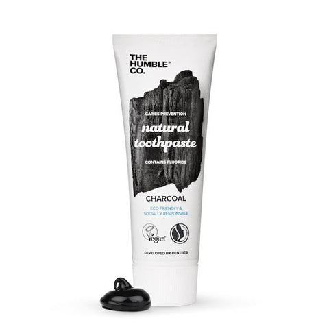 The Humble Co. | Natural Toothpaste - Charcoal - 75ml | A Little Find