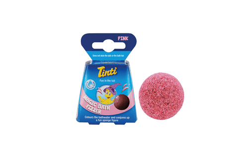 Tinti | Magic Bath Fizzer - Pink | A LITTLE FIND