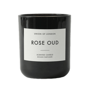 Union Of London | Rose Oud Candle - Black | A Little Find