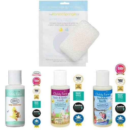 Childs Farm Starter Kit - Bath Time Made Easy