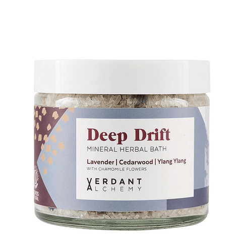 Verdant Alchemy | Deep Drift Mineral Herbal Bath Salts | A Little Find